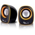Qlx 2.0 S902Y Wired Laptop/Desktop Speaker Black and Yellow 2.0 Channel