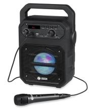 Zoook Rocker Thunder 20 watts Bluetooth Speaker with Karaoke Mic /TF/FM/LED/USB Sound Box With Powerful Bass