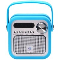 Tecille Yoodle Bluetooth Speaker Blue Front View